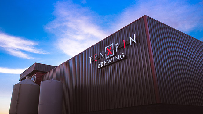 Ten Pin Brewing Building Exterior